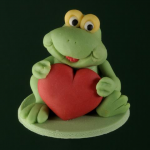 Frog with heart 60 g