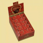 Heart dessert in a gift box
