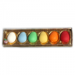 Box with marzipan eggs