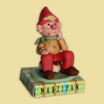 Elf on book