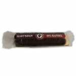 Marzipan bar in chocolate, 40% of almond