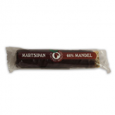 Marzipan bar in chocolate, 60% of almond