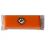 Orange colored marzipan