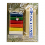 Set for sculpting with colored marzipan 205 g